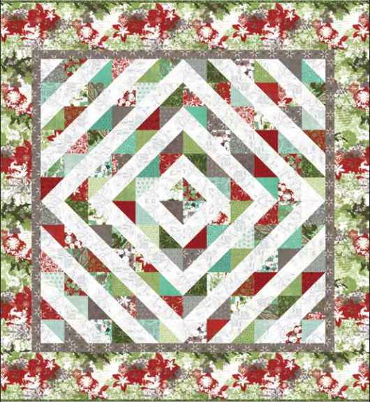 Christmas Quilt Patterns Moda : Free Christmas Quilt Patterns BOMquilts.com