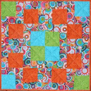 Fiesta! Free Quilted Table Topper Pattern