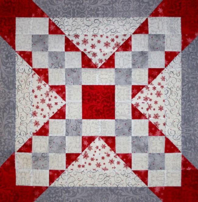 Serene Elegance – an Original Design by TK Harrison, Owner of BOMquilts.com