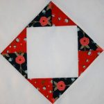 """Happiness is Quilting"" Free 2017 BOM Quilt Block #3"