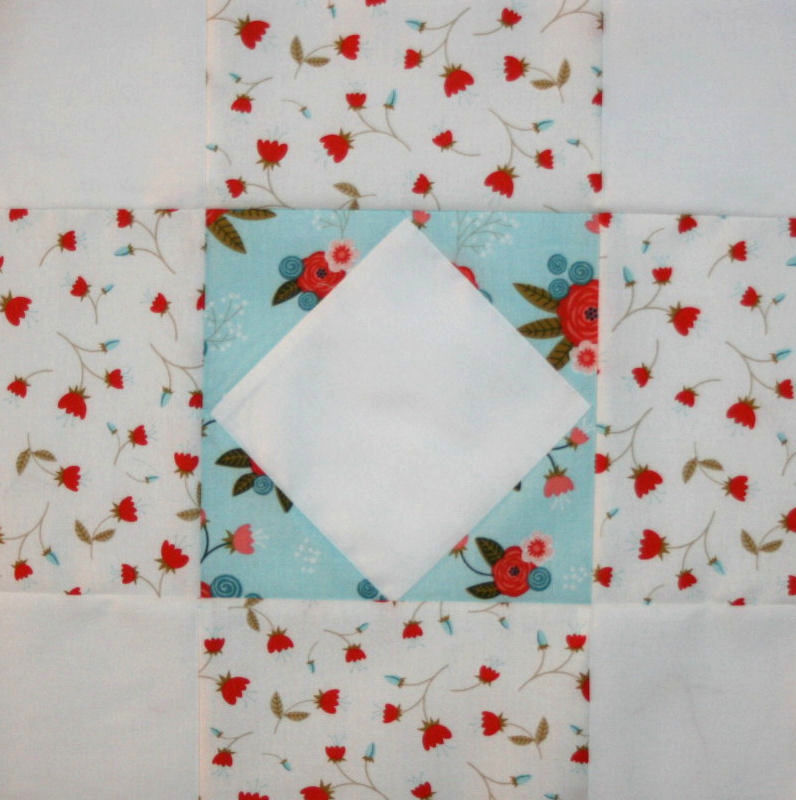"""Happiness is Quilting"" Block #5"