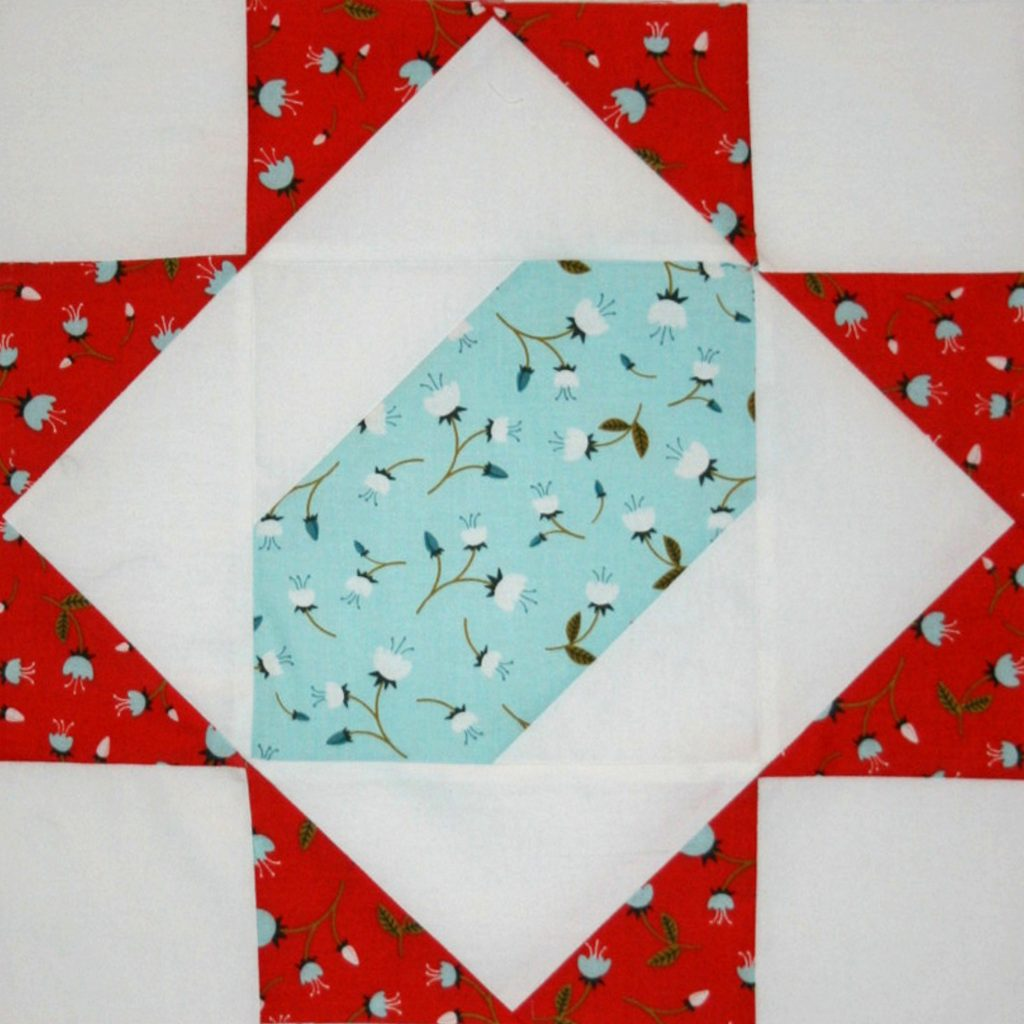 """""""Happiness is Quilting"""" Block #6"""