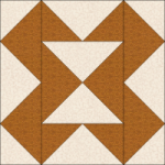 Devil's Claw Quilt Block from QuiltTherapy.com