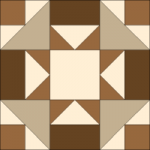 French Silk Pie Quilt Block from BOMquilts.com