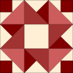 Strawberry Smoothie Quilt Block from QuiltTherapy.com