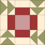 Apple Pie Quilt Block from QuiltTherapy.com