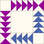 Wild Goose Chase Quilt Block from QuiltTherapy.com
