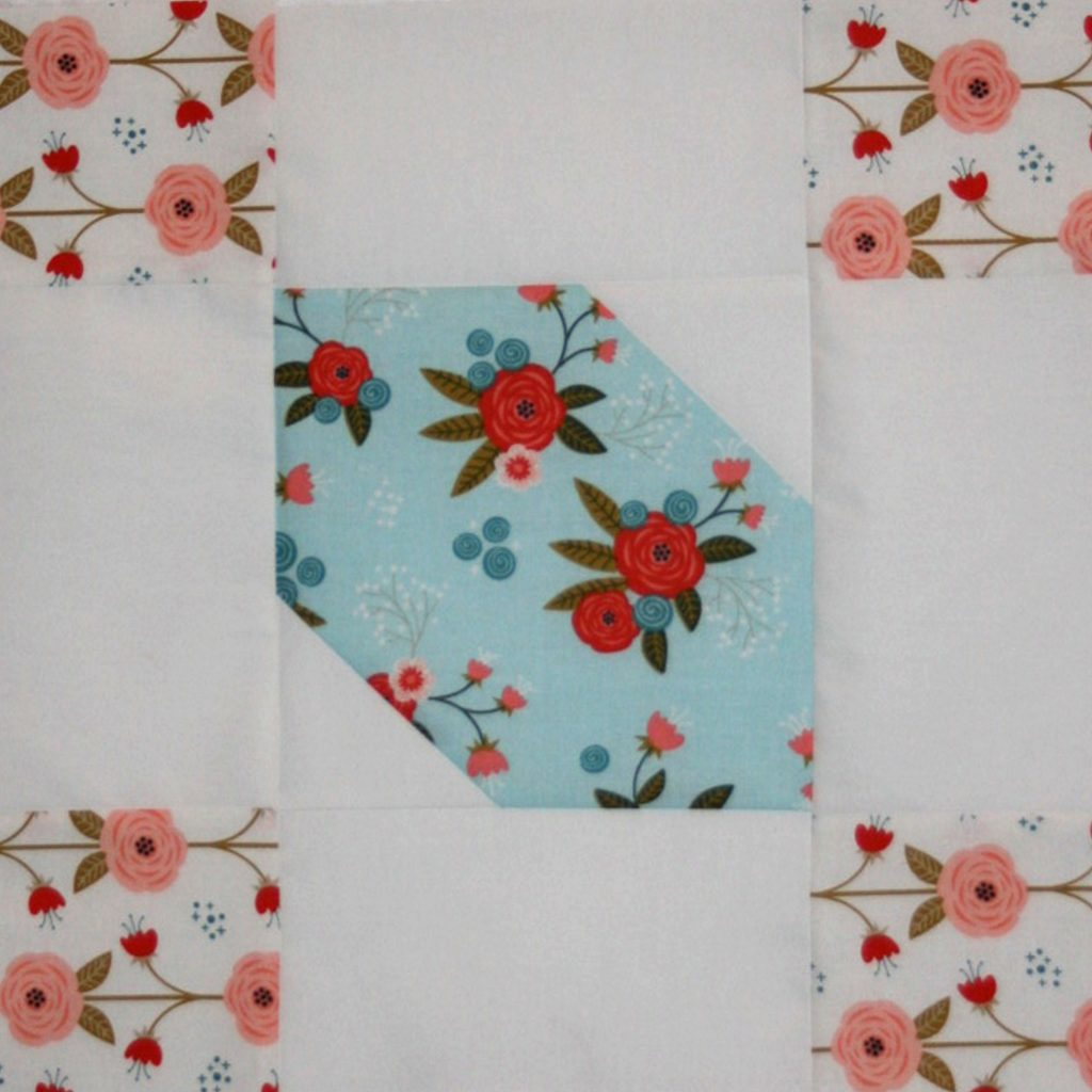 """Happiness is Quilting"" Block #4"