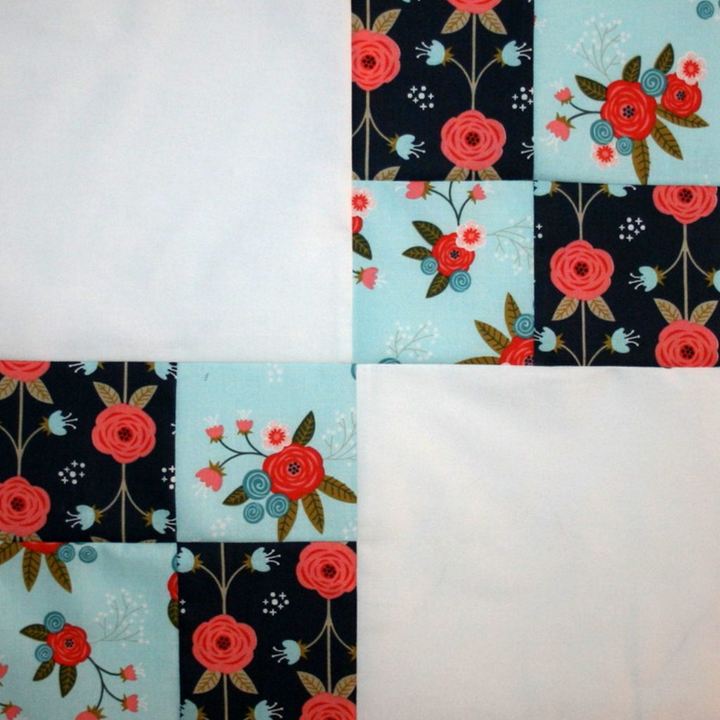 """Happiness is Quilting"" Block #9"