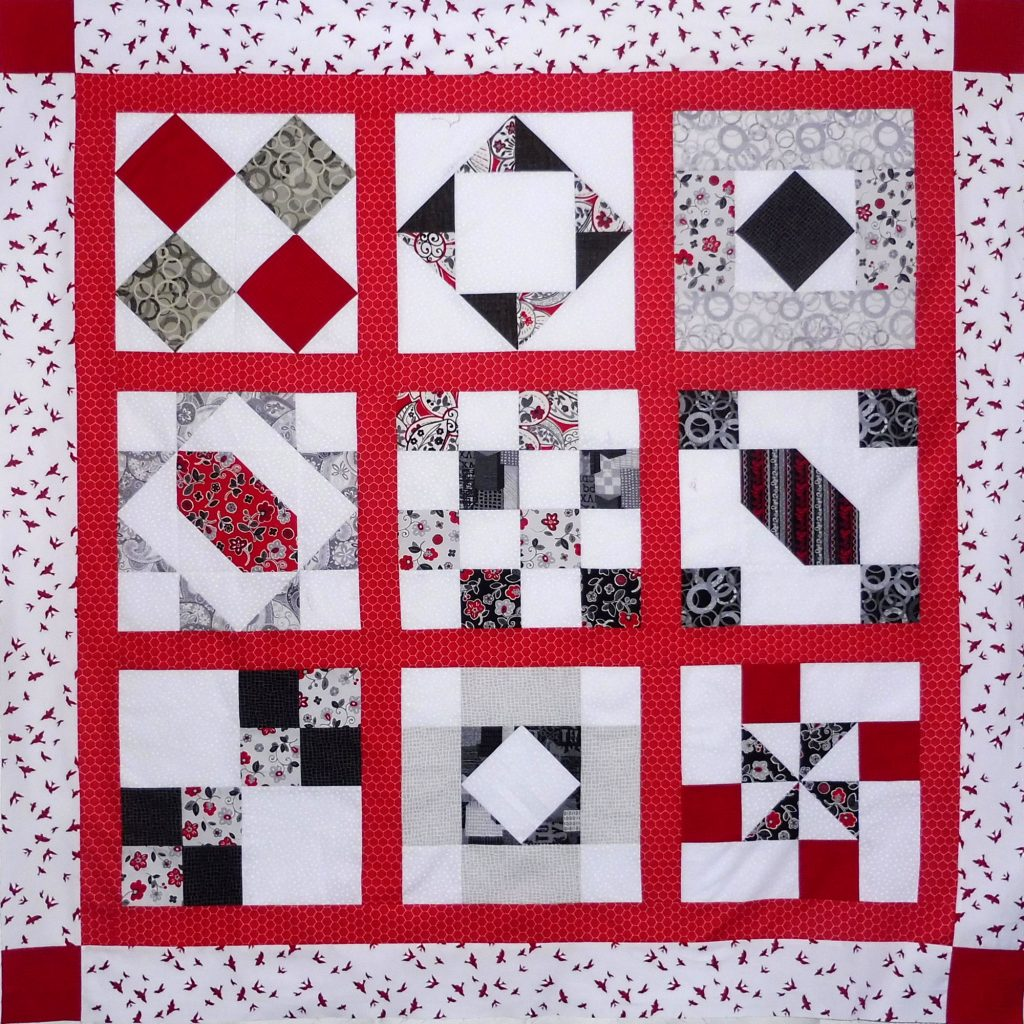 Free Block Of The Month Quilt Patterns 2017 Custom Decorating Design