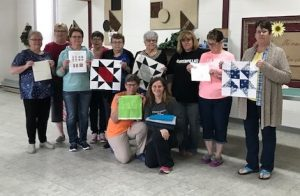 """Maidstone Quilting Squares"" Quilt Guild from Maidstone, Saskatchewan, Canada - Month #1"