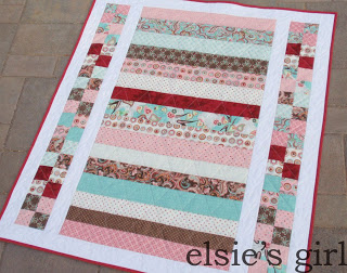 """Pretty in Pink"" Free Pattern designed by Shelley from Elsie's Girl"