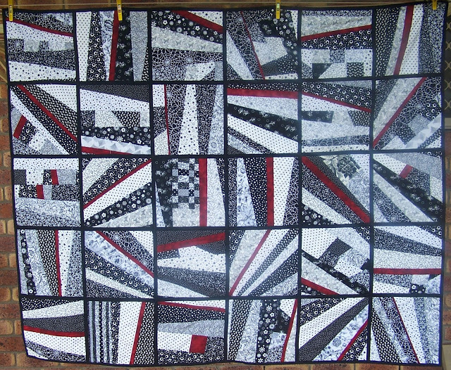 """Quilt as you Go Tutorial"" Free Quilt Pattern designed by Fiona from Bubz Rubz"