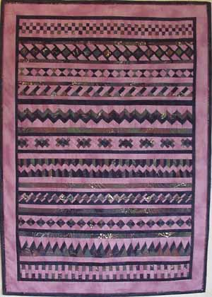 """""""Seminole Sampler"""" Row of the Month Quilt Designed by Barbara Siedlecki from The Quilter Community"""