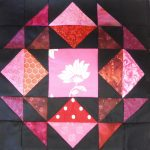 """Union Star"" made by Meloney F. Pattern Tester for my 2020 ""Midnight Stargazer"" BOM Quilt!"