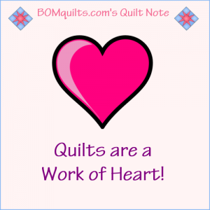 BOMquilts.com's Meme: Quilts are a Work of Art!