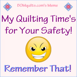 BOMquilt's Meme: Don't ever forget!