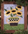 """Sunshine Tea Wall Quilt"" from Debbie Mumm"