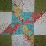 """Lovely"" Table Topper Trio #3 original design by BOMquilts.com"