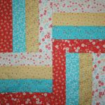 """Lovely"" Table Topper Trio #1 original design by BOMquilts.com"