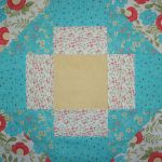 """Lovely"" Table Topper Trio #2 original design by BOMquilts.com"