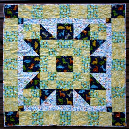 Baby Bunting designed by TK Harrison for BOMquilts.com