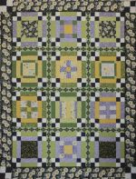 He Loves Me, He Loves Me Not 2014 Block of the Month Quilt, Original Project designed by TK Harrison from BOMquilts.com