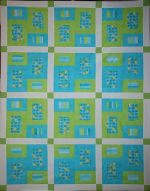 Lydia's Quilt designed by TK Harrison from BOMquilts.com