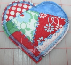 Crazy Quilted Heart Keepsake from BOMquilts.com