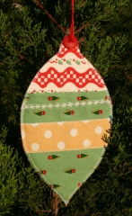 Gift Card (or Money) Holder Quilted Project - Ornament