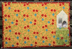 Placemat with Silverware Holder from BOMquilts.com