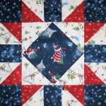 Merriment Star designed by TK Harrison for BOMquilts.com