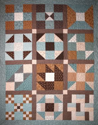 Purely Nine 2011 BOM Quilt Exclusively Designed by BOMquilts.com