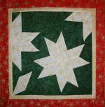 Watching Snowflakes from a Window designed by TK Harrison for BOMquilts.com