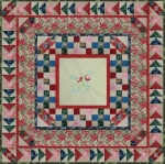 MKs Featured Flower Porch Quilt from BOMquilts.com